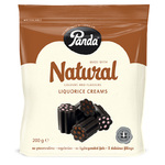 Panda Natural Liquorice Creams 200g