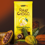 Leader Lemon & Ginger raw choco