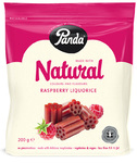 Panda Natural Raspberry Liquorice 200g