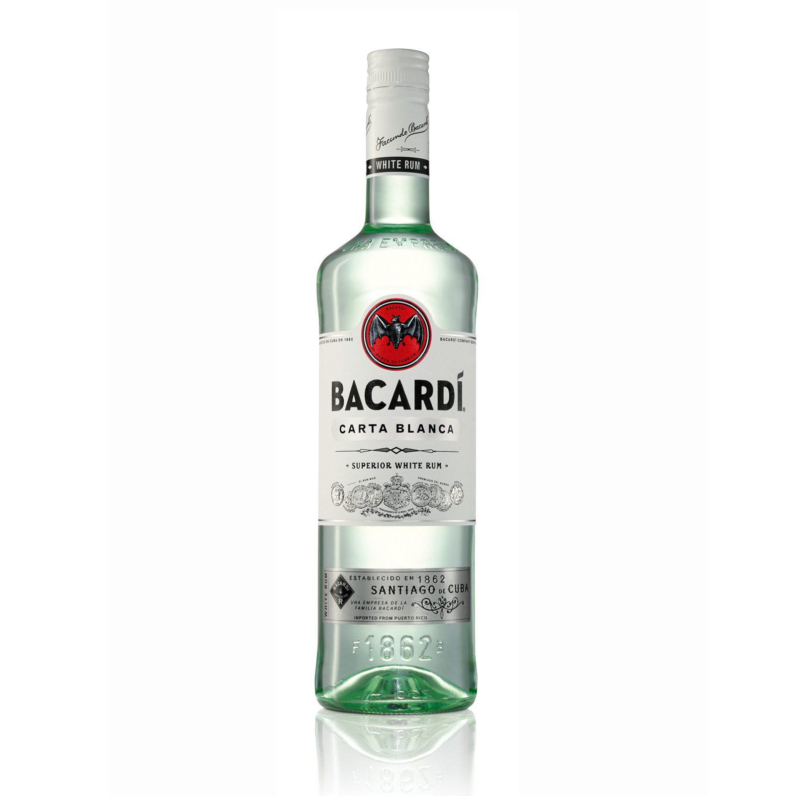 Bacardi Superior 40 Rum 1 L Finnair Shop