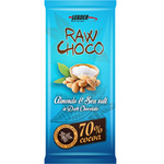 Leader Raw Choco Almond Sea Salt 80g