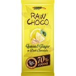 Leaders Raw Choco Lemon-Ginger 80g